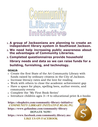 Community Library Initiative Goals