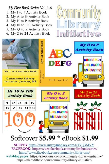 Community Library Initiative book promo jpeg